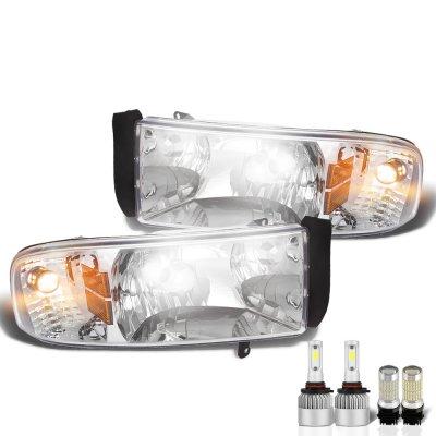 Dodge Ram 1994-2001 LED Headlight Bulbs Complete Kit
