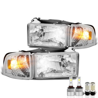 Dodge Ram 1994-2001 LED Headlight Bulbs Set Complete Kit