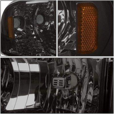 Dodge Ram 1994-2001 Smoked Headlights Corner Lights