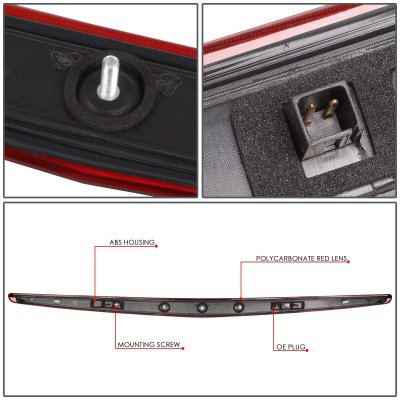 Cadillac DTS 2006-2011 LED Third Brake Light