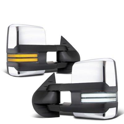 Gmc Sierra 2500hd 2007 2014 Chrome Tow Mirrors Switchback