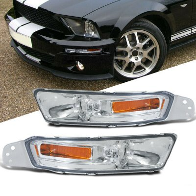 Ford Mustang 2005-2009 Front Bumper Lights