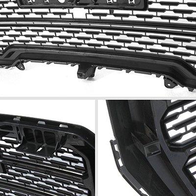 GMC Sierra 1500 2019-2021 Black New Denali Style Grille