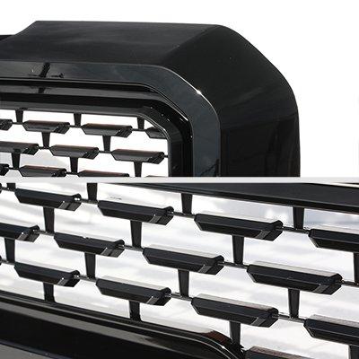 GMC Sierra 1500 2019-2021 Glossy Black New Denali Style Grille