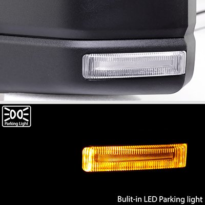 Ford F150 2015-2020 Side Mirrors Power Heated LED DRL Puddle Lights