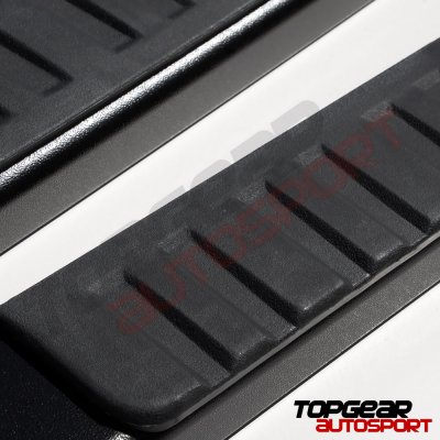 GMC Sierra 1500 Double Cab 2019-2021 Running Boards Black 5 Inches