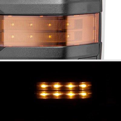 Toyota Tundra 2007-2021 Power Folding Tow Mirrors LED Lights