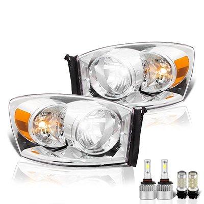 Dodge Ram 2006-2008 LED Headlight Bulbs Set Complete Kit