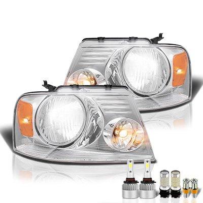 Ford F150 2004-2008 LED Headlight Bulbs Set Complete Kit
