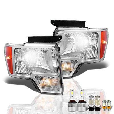 Ford F150 2009-2014 LED Headlight Bulbs Set Complete Kit