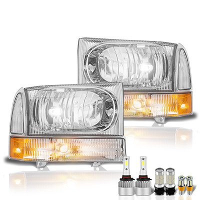 Ford Excursion 1999-2004 LED Headlight Bulbs Set Complete Kit