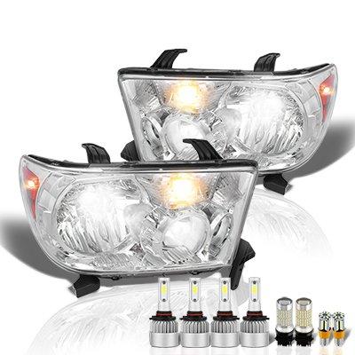 Toyota Tundra 2007-2013 LED Headlight Bulbs Set Complete Kit
