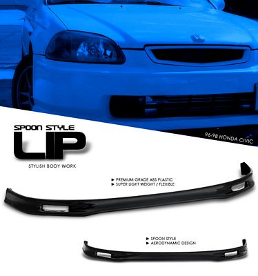 Honda Civic 1996-1998 Spoon Style Front Lip