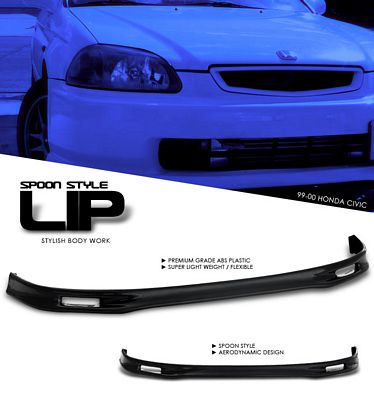 Honda Civic 1999-2000 Spoon Style Front Lip