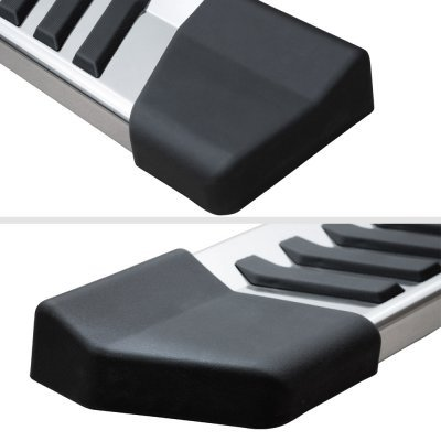 Ford F150 SuperCrew 5ft Box 2015-2020 Wheel to Wheel Running Boards Step Stainless 6 Inch