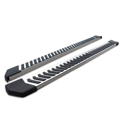 Chevy Silverado 2500HD Duramax Double Cab 2015-2019 Running Boards Step Stainless 6 Inch