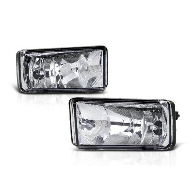 Chevy Silverado 2500HD 2007-2014 Clear Fog Lights