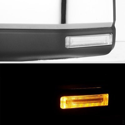 Ford F150 2015-2020 Chrome Side Mirrors Power Heated LED Signal Puddle Lights