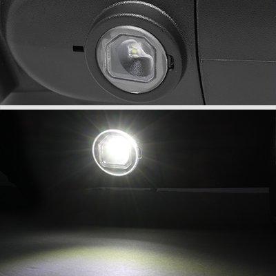 Dodge Ram 1500 2009-2018 Chrome Tow Mirrors Clear LED Lights Power Heated