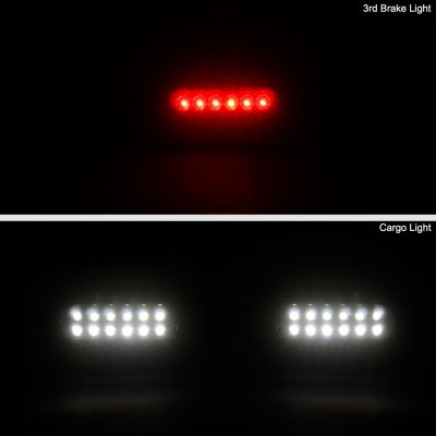 Ford F150 1997-2003 Black Smoked LED Third Brake Light
