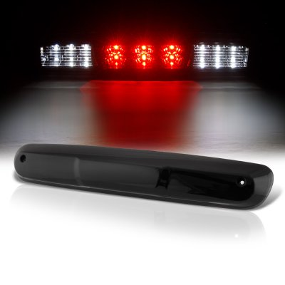 Chevy Silverado 2007-2013 Black Smoked LED Third Brake Light