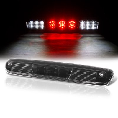 Chevy Silverado 2500HD 2007-2014 Black LED Third Brake Light