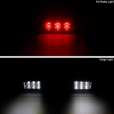 GMC Sierra 2007-2013 Black LED Third Brake Light
