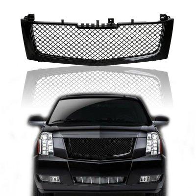 Cadillac Escalade 2002-2006 Black Mesh Grille