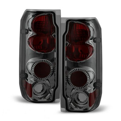 Ford F150 1987-1996 Smoked Altezza Tail Lights