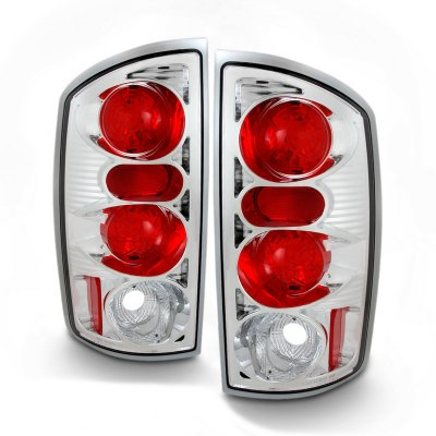 Dodge Ram 2500 2003-2006 Clear Altezza Tail Lights