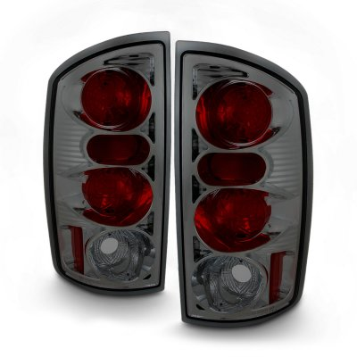 Dodge Ram 2002-2006 Smoked Altezza Tail Lights