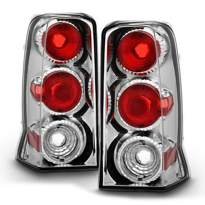 Cadillac Escalade 2002-2006 Clear Altezza Tail Lights