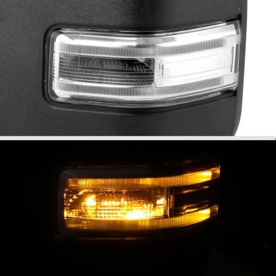 Ford F150 2009-2014 New Towing Mirrors Power Heated LED Signal Puddle Lights