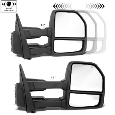 Ford F150 2004-2008 New Towing Mirrors Power Heated LED Signal Puddle Lights