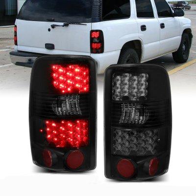 Chevy Tahoe 2000-2006 Dark Smoked LED Tail Lights