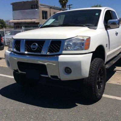 Nissan Titan 2004-2012 Smoked OEM Style Fog Lights