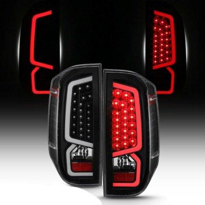 Toyota Tundra 2014-2019 Black LED Tail Lights