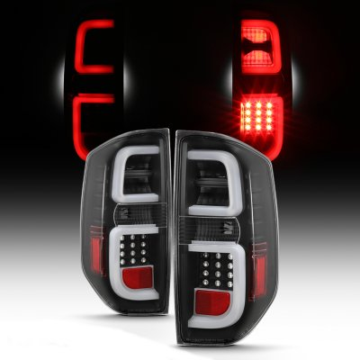 Toyota Tundra 2014-2021 Black LED Tail Lights