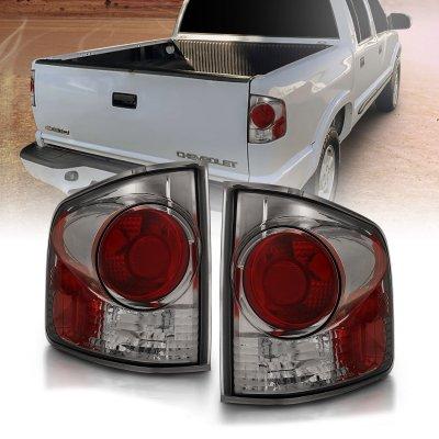 Chevy S10 1994-2004 Smoked Custom Tail Lights