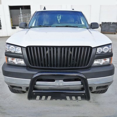 Chevy Avalanche 2003-2006 Black Vertical Grille