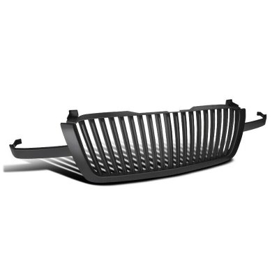 Chevy Silverado 2003-2005 Black Vertical Grille