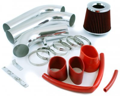 Dodge Ram HEMI V8 2003-2008 Cold Air Intake with Red Air Filter