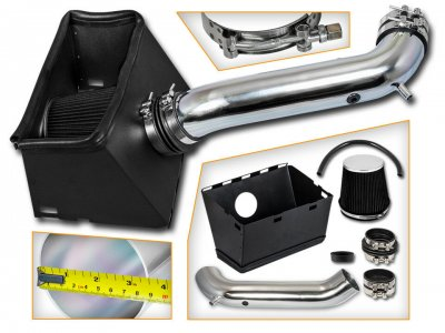 Dodge Ram 2002-2008 Cold Air Intake with Black Air Filter