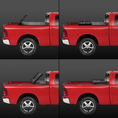 GMC Sierra 1500 2007-2013 Short Bed Tonneau Cover Soft Fold
