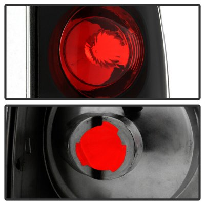 Ford F350 Styleside 1999-2007 Black Altezza Tail Lights