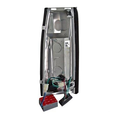 Chevy Silverado 1988-1998 Chrome LED Tail Lights