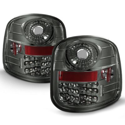 Ford F150 Flareside 1997-2003 LED Tail Lights Smoked