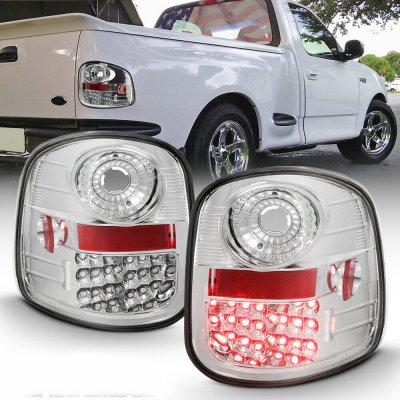 Ford F150 Flareside 1997-2003 LED Tail Lights Chrome