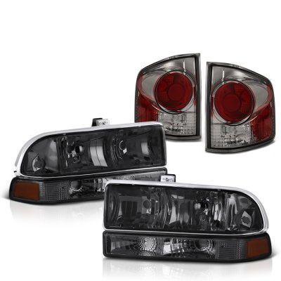 Chevy S10 1998-2004 Smoked Headlights and Tail Lights