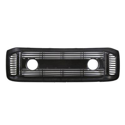 Ford F350 Super Duty 1999-2004 Glossy Black Billet Grille and Fog Lights